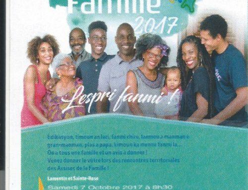 Les assises de la famille 2017 à Deshaies