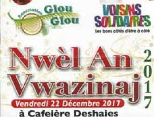 Nwèl an Vwazinaj à Caféière Deshaies vendredi 22 décembre 2017 à 20 heures