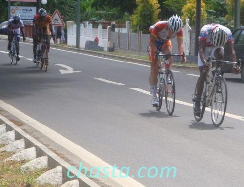Grand Prix cycliste du conseil général Guadeloupe 2011 a Deshaies
