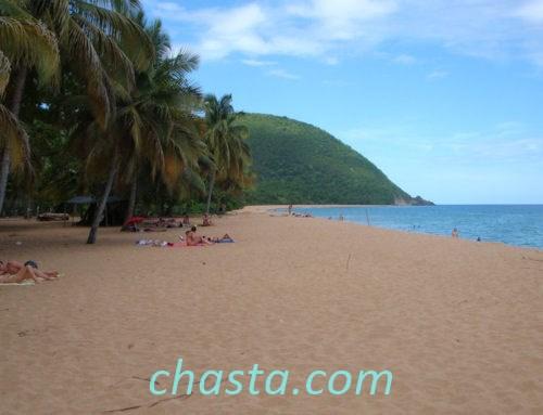 21 aout 2011 : Fun Tour à Deshaies, plage de Grande-Anse