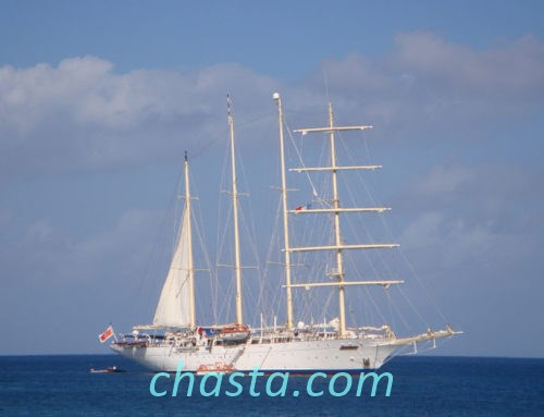 Star clipper a Deshaies